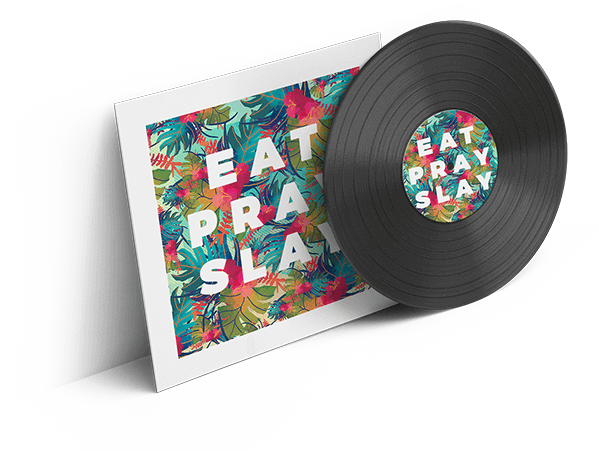 eat pray slay cd-hülle