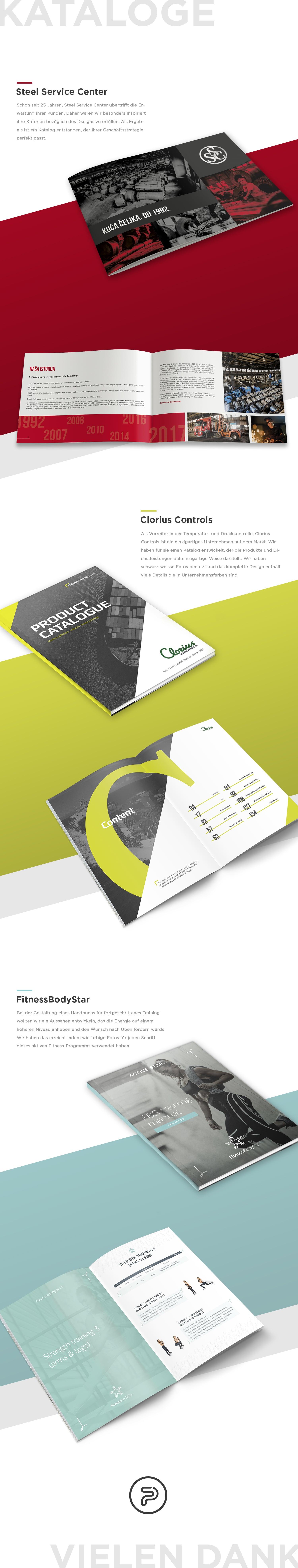 Katalog Design Eines Porfolios
