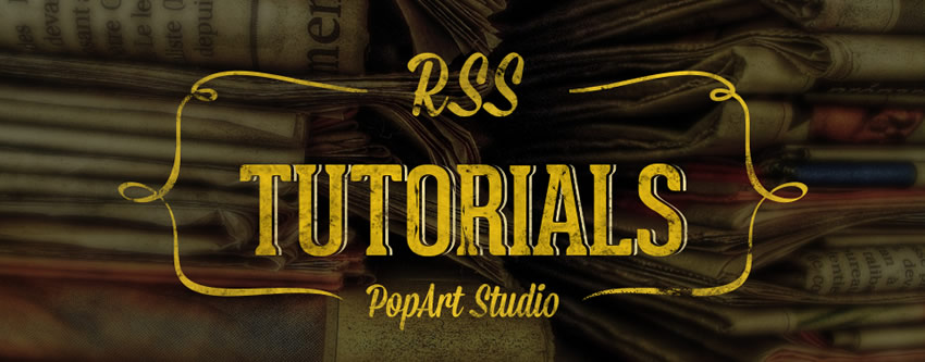 rss tutorials