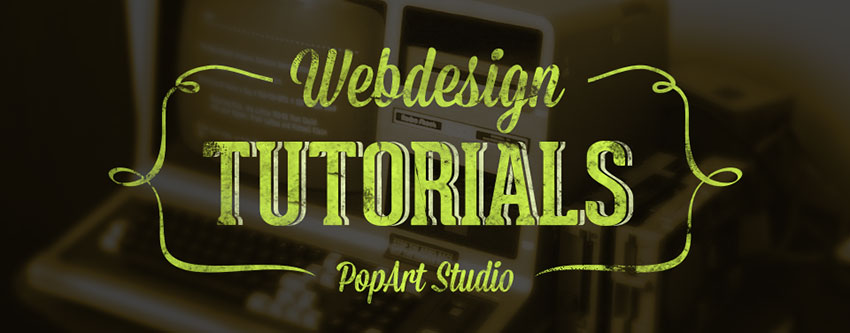 webdesign tutorials