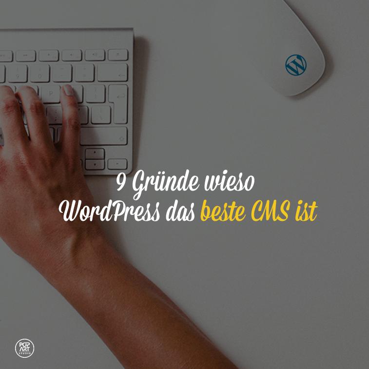 9 Gründe wieso WordPress das beste CMS ist
