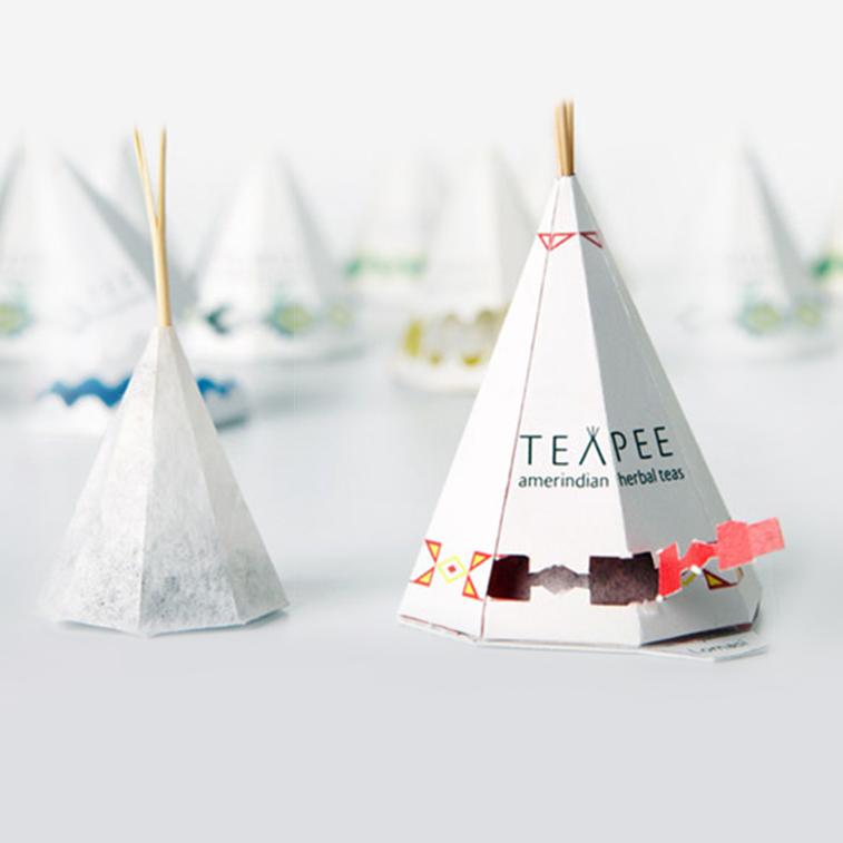 Industriedesign: 30 Beispiele des kreativen Designs von Teebeuteln