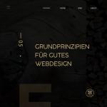 5 Grundprinzipien für gutes Webdesign