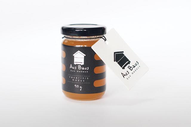 Design-Etiketten für Honig aus baus 5
