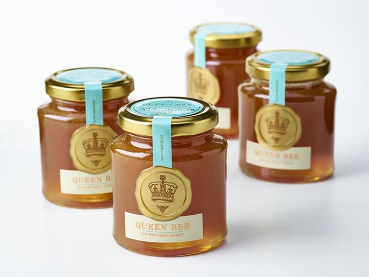 Etiketten für Honig fortnum and mason queen bee 2