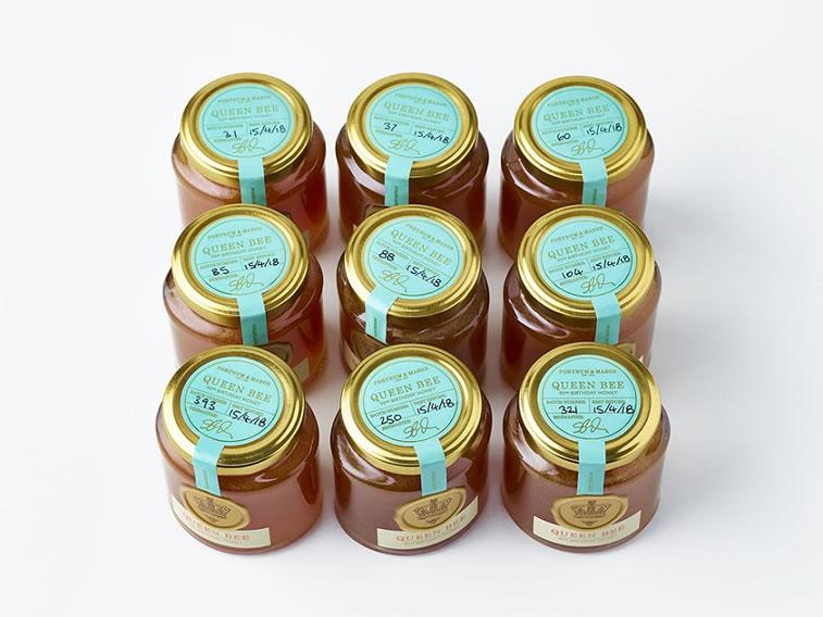 Etiketten für Honig fortnum and mason queen bee 3