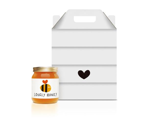 Etiketten für Honig lovely honey 2