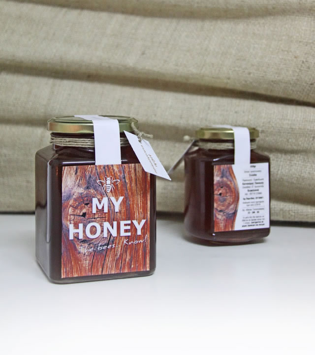 Etiketten für Honig my honey 2
