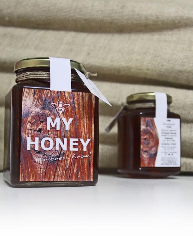 Etiketten für Honig my honey 3