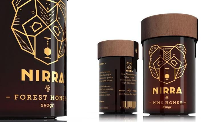 Etiketten für Honig nirra honey 1