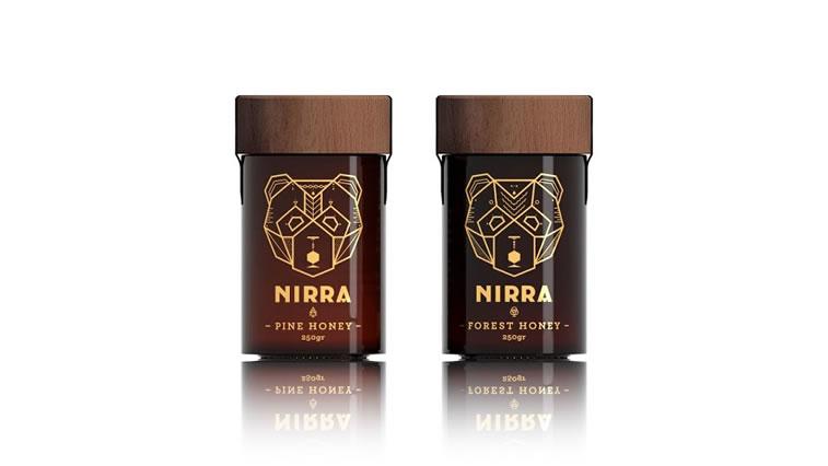 Etiketten für Honig nirra honey 2