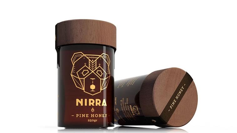 Etiketten für Honig nirra honey 3