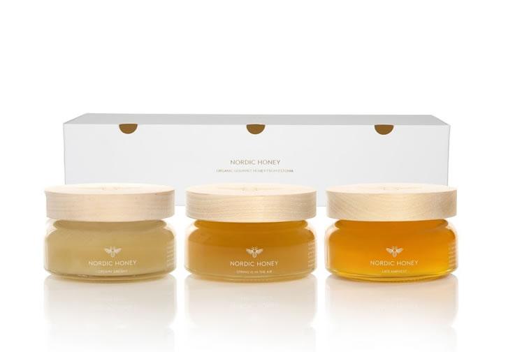 Etiketten für Honig nordic honey 4
