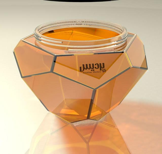 Etiketten für Honig pardis honey 2