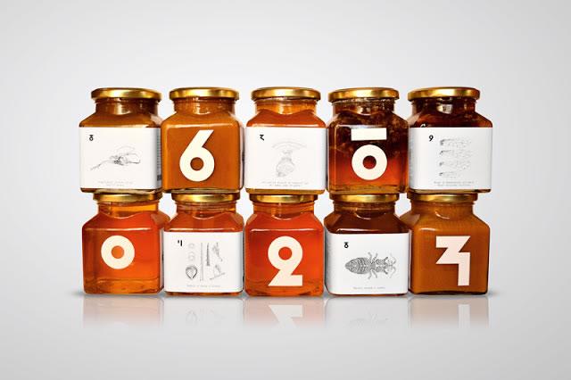 Etiketten für Honig pcelica kraljevo 1