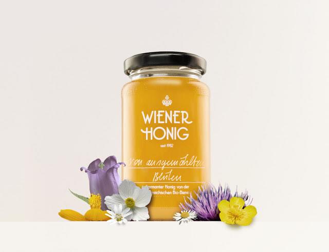 Etiketten für Honig wiener honig 1