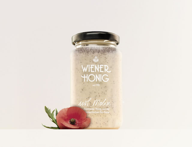 Etiketten für Honig wiener honig 4
