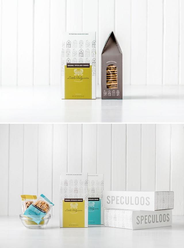 Verpackung von Süßwarenerzeugnissen inspirierende Ideen Little Belgians speculoos