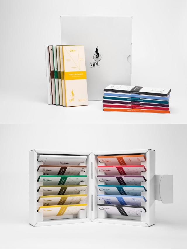 Verpackung von Süßwarenerzeugnissen inspirierende Ideen library of chocolates