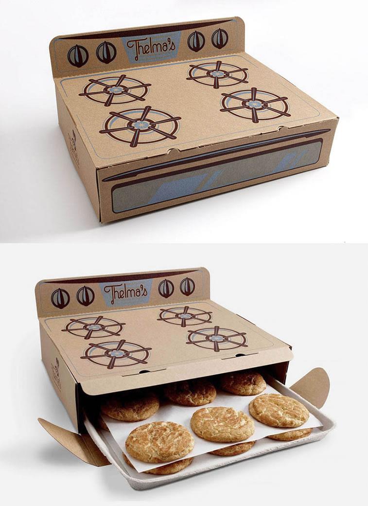 Verpackung von Süßwarenerzeugnissen inspirierende Ideen thelma's cookies
