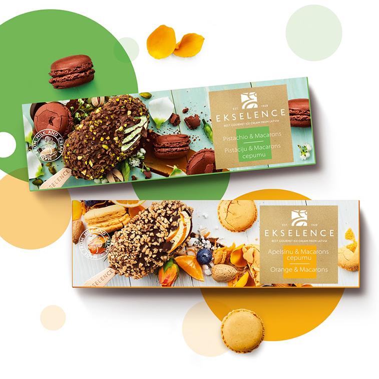 Verpackung von Süßwarenerzeugnissen: inspirierende Ideen