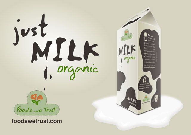 Kreative Beispiele für Milchverpackungen 15