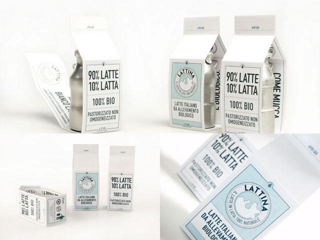 Kreative Beispiele für Milchverpackungen 16