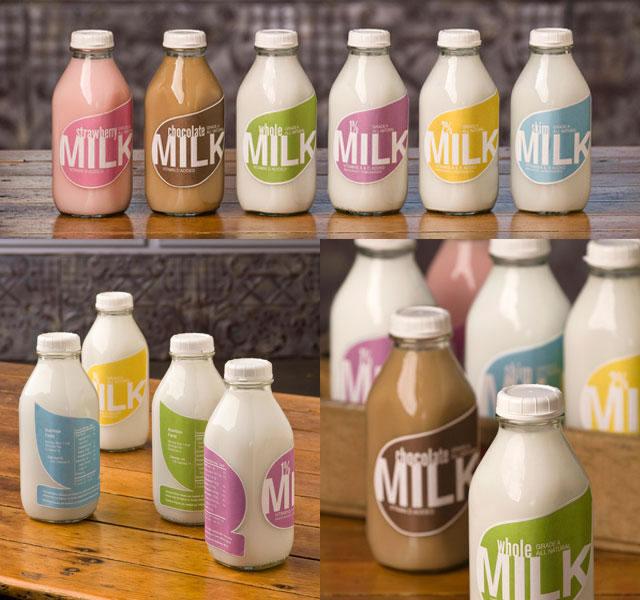 Kreative Beispiele für Milchverpackungen 17