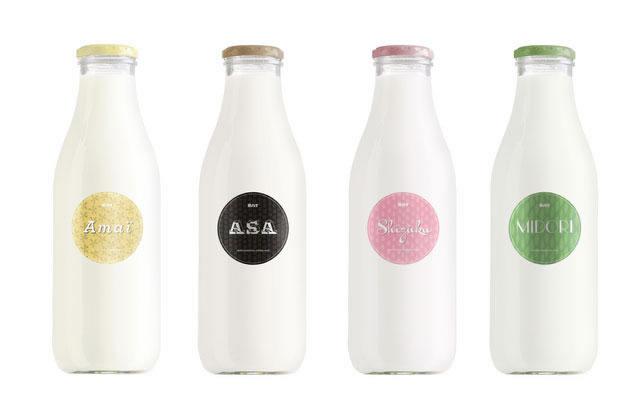 Kreative Milchverpackungen Beispiele 23