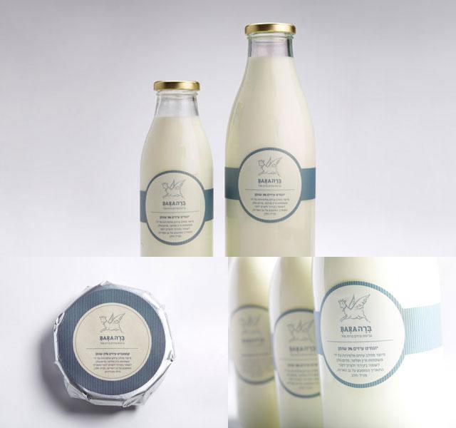 Kreative Milchverpackungen Beispiele 25
