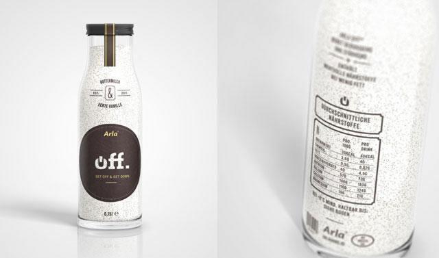 Kreative Milchverpackungen Beispiele 27