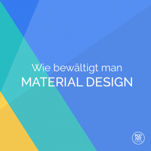 Wie bewältigt man Materialdesign?
