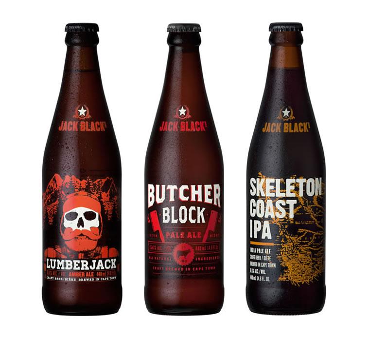 bierverpackung design Jack Black's Bier