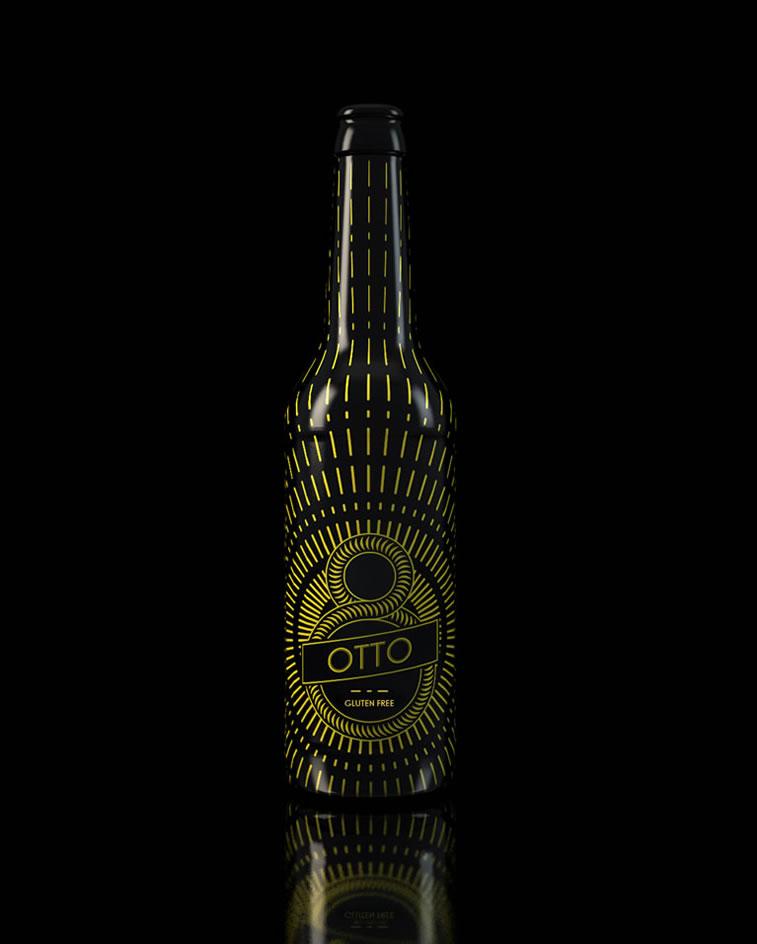 bierverpackung design Otto Bier