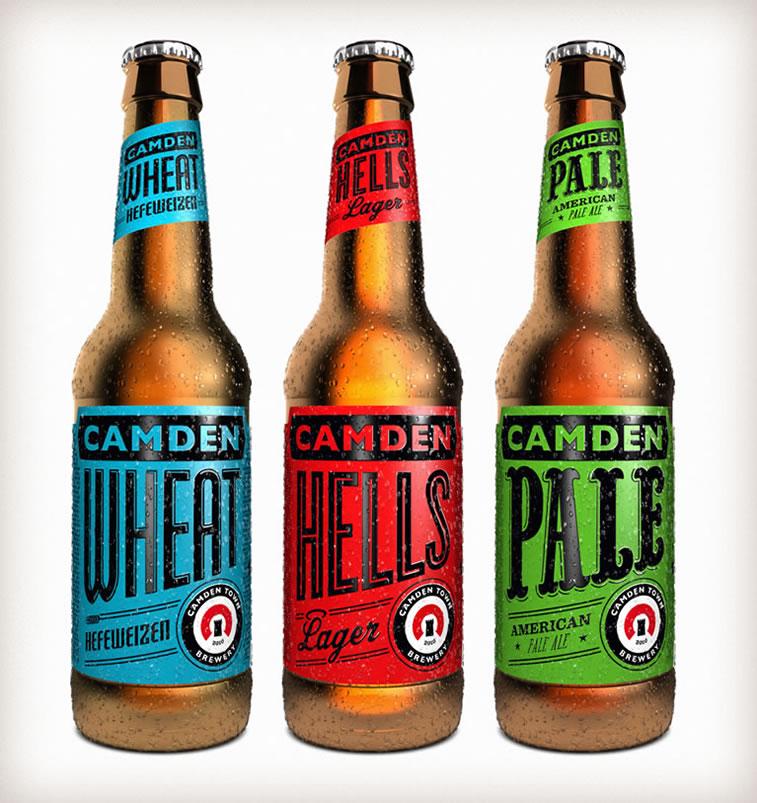 bierverpackung design camden town beer
