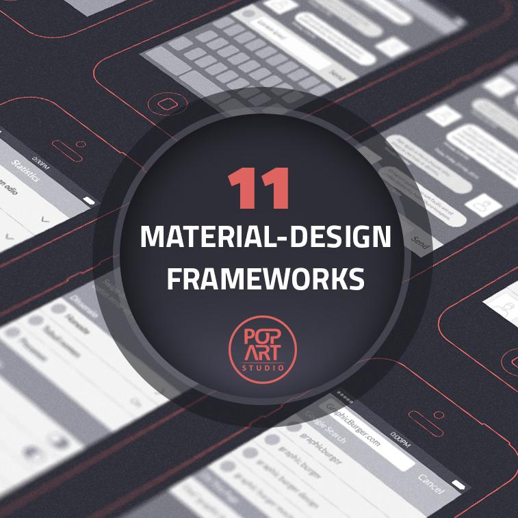 11 Materialdesign-Frameworks