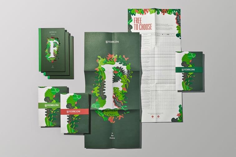 Broschüren-Design mit hervorragenden Illustrationen Inspiration 1