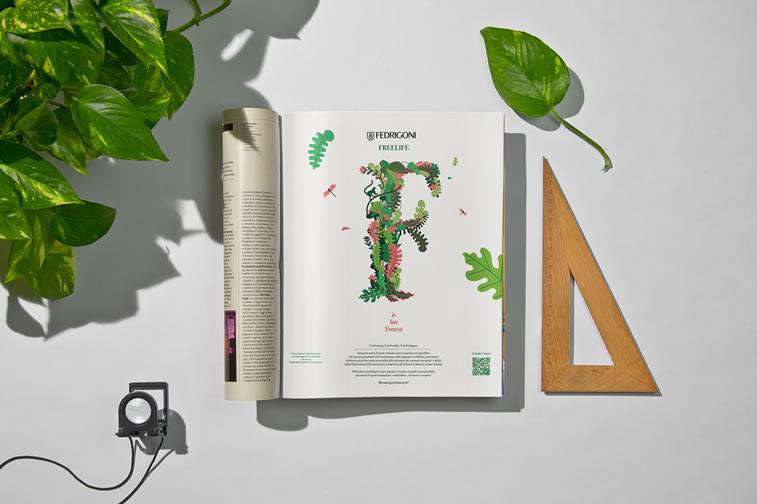 Broschüren-Design mit hervorragenden Illustrationen Inspiration 10