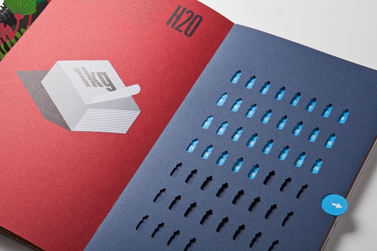 Broschüren-Design mit hervorragenden Illustrationen Inspiration 15
