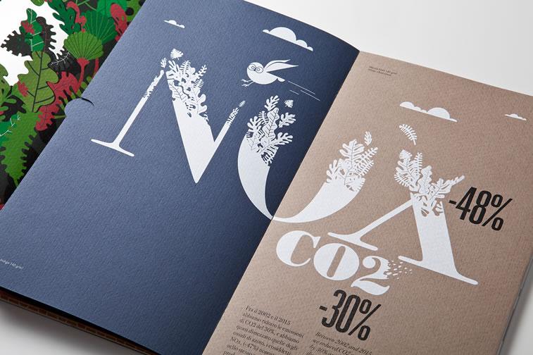 Broschüren-Design mit hervorragenden Illustrationen Inspiration 16