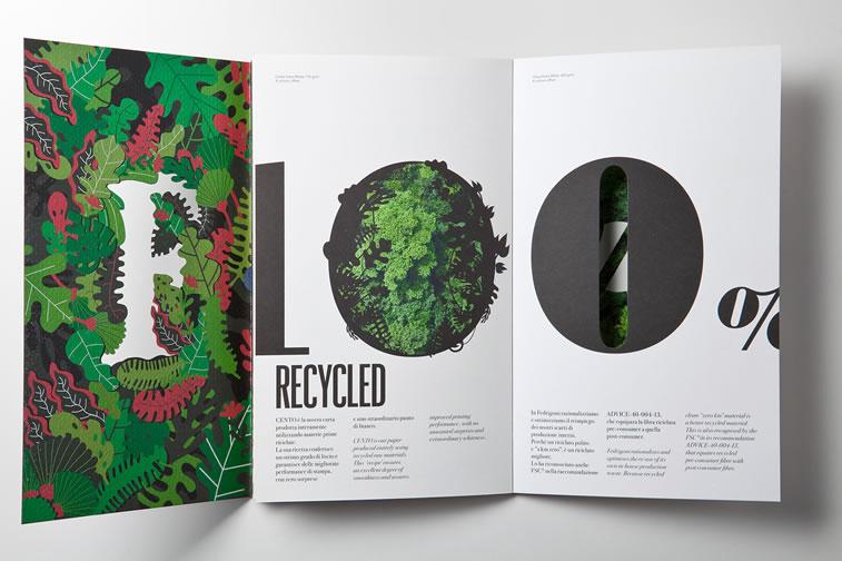 Broschüren-Design mit hervorragenden Illustrationen Inspiration 17
