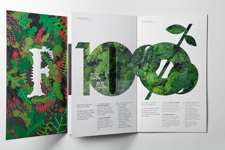 Broschüren-Design mit hervorragenden Illustrationen Inspiration 19