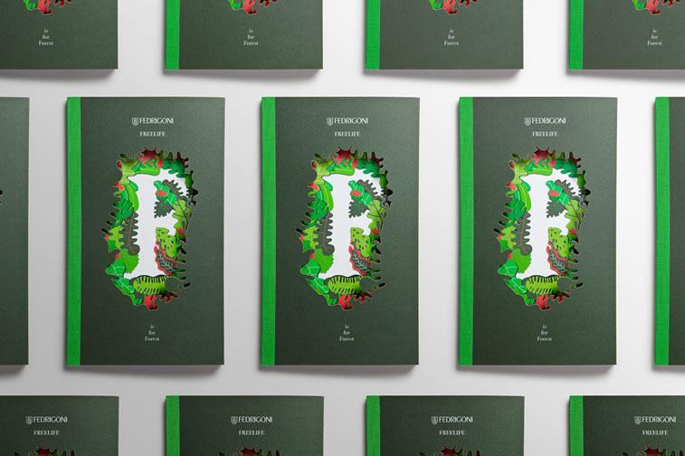 Broschüren-Design mit hervorragenden Illustrationen Inspiration 2