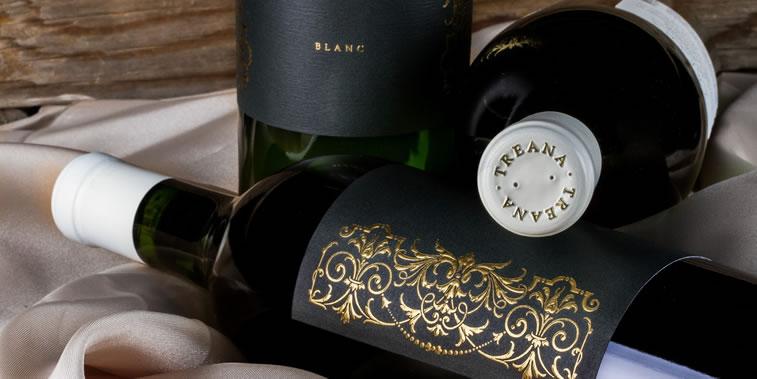 Etiketten-Design treana blanc 2