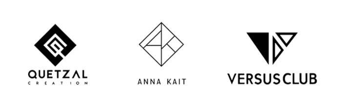 trends bei logodesign 2017 geometrische formen