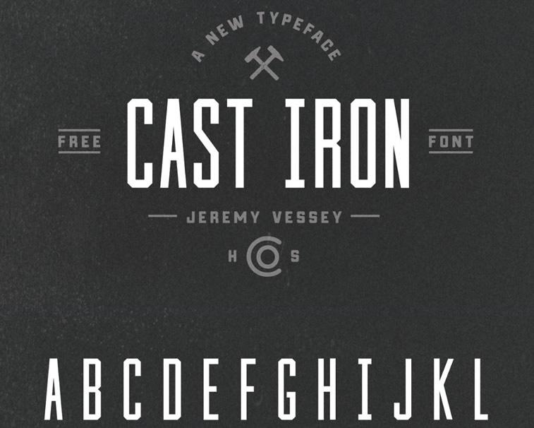cast-iron-typeface