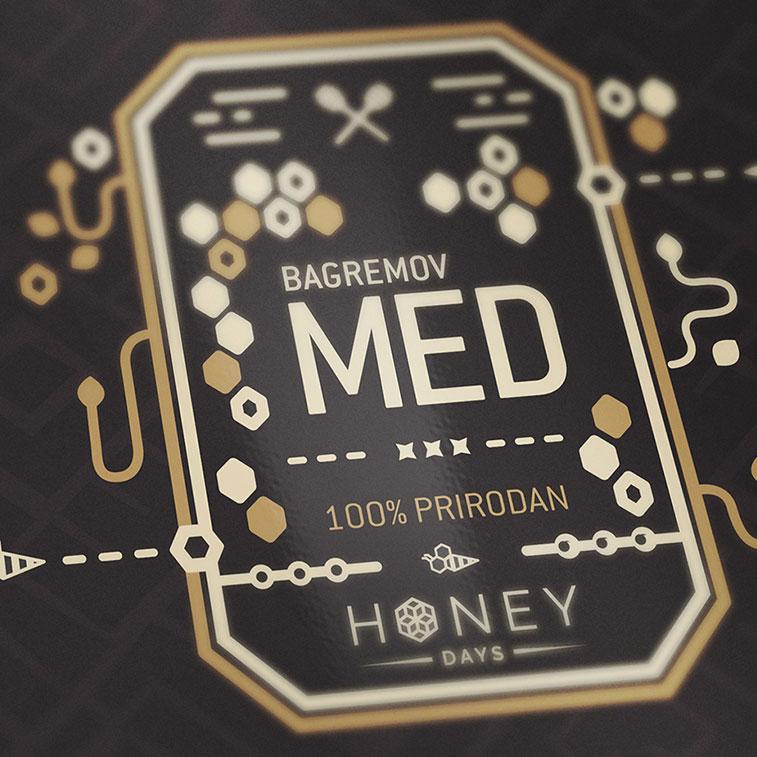 Wunderschöne Honigverpackung-Designs für Ihre Inspiration
