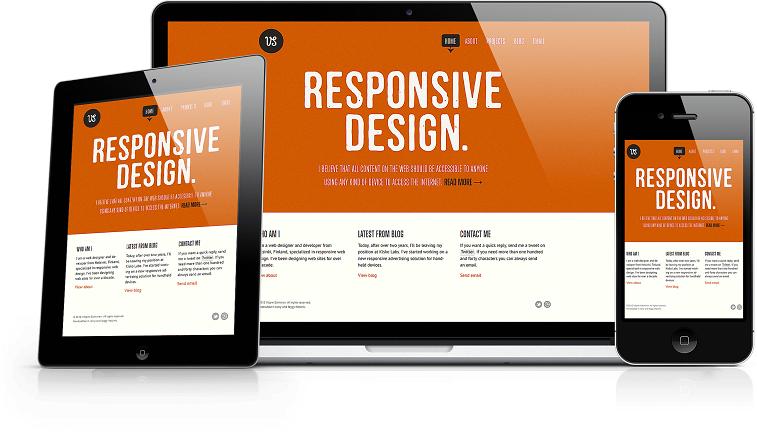 responsive webdesign beispiel