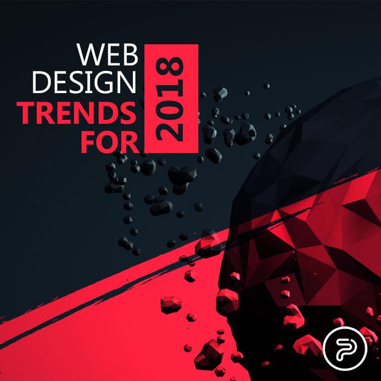 Webdesign Trends für 2018