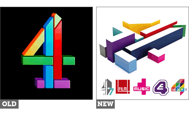 All 4 Channel 4 Uk The Logo Factory